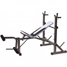 Panca porta bilanciere Force Bench 860 GETFIT
