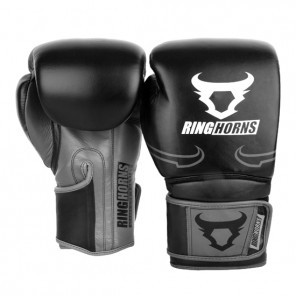 Guantoni Boxe VENUM Destroyer Ringhorns nero/grigio