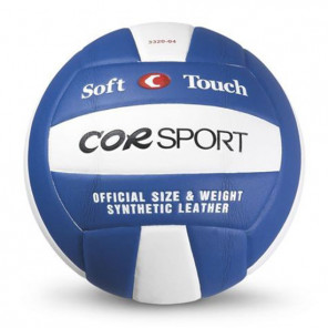 Pallone Volley COR SPORT Supersoft in Poliuretano blu