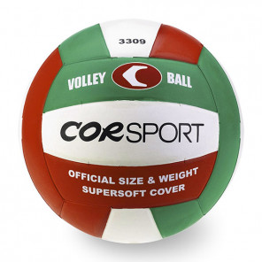 Pallone Volley COR SPORT Supersoft tricolore